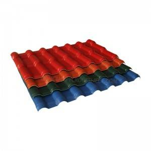 ASA resin tile for builder roofing sheet K025