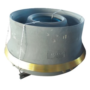 Cone Crusher Spare Parts Cone and Mantle Liner High Manganese Mn13Cr2 Mn18Cr2 Crusher Spare Parts