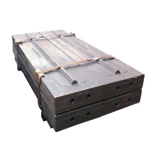 Impact Crusher Spare Parts High Manganese Steel High Chrome Steel Blow Bar and Impact Plate