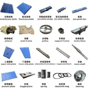 Jaw Crusher Accessories