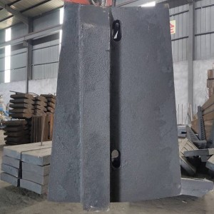 Chrome Moly Alloy Mill Liner for Gold Mining