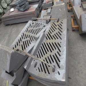 SAG and AG Mill Grate Mill Liner