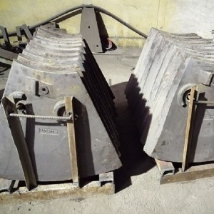 Mining Wear Parts Metso Mining Equipments Chute and Hopper Liner