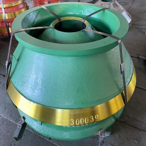 Metso Bowl and Mantle Liner