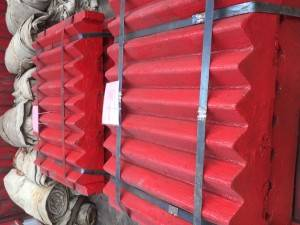 Terex Jaw Plate