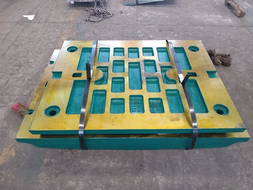Jaw crusher fixed jaw casting process