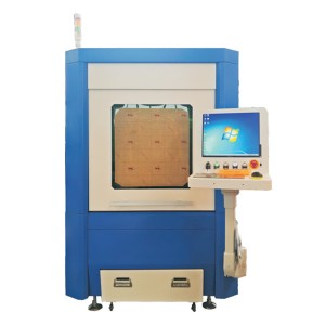 Small Size Mini Sheet Metal Fibra Laser Cutting Machine GF-6060