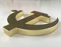 Fiber Laser Cutting 10mm Brass Sheet