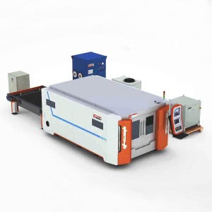 4000w 6000w 8000w Fiber Laser Sheet Cutting Machine