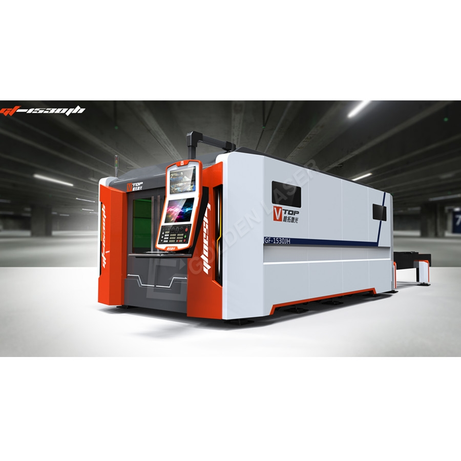 Lowest Price for Stainless Steel Tube Cutting Saw - 4000w 6000w Full Closed Pallet Table Fiber Laser Metal Cutting Machine For Aluminum – Vtop Fiber Laser