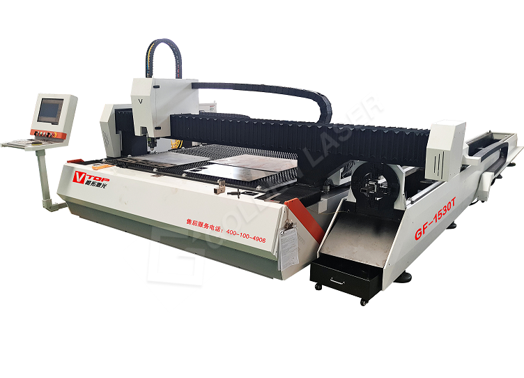 Hot Sale for Automatic Feed Plate Fiber Laser Cutter - Hot sales 1500w  dual function fiber laser sheet and tube cutting machine – Vtop Fiber Laser