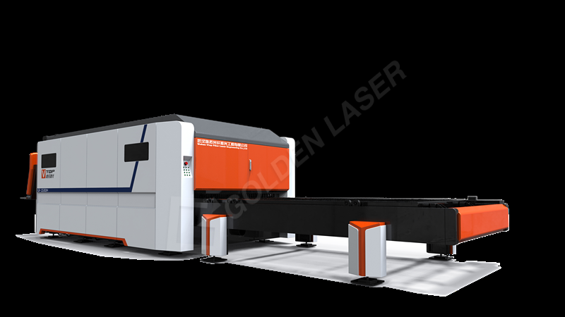 Top Quality Double Table 3000 Watt Fiber Laser - 2500W Enclosed Cover Exchange Table Fiber Laser Sheet Cutting Machine Price GF-1530JH – Vtop Fiber Laser