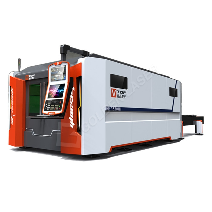 One of Hottest for Cnc Tube Cutting Machine - 6000w High Power High Speed Exchange Table Fiber Laser Cutting Machine For Stainless/Carbon Steel And Aluminum/Galvanized Metal Sheets – Vtop Fi...