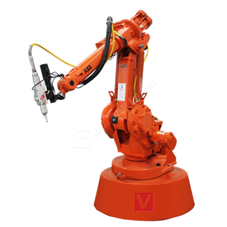 ABB Fiber Laser Robot Arm 3D Cutting Tube / Pipe For Auto
