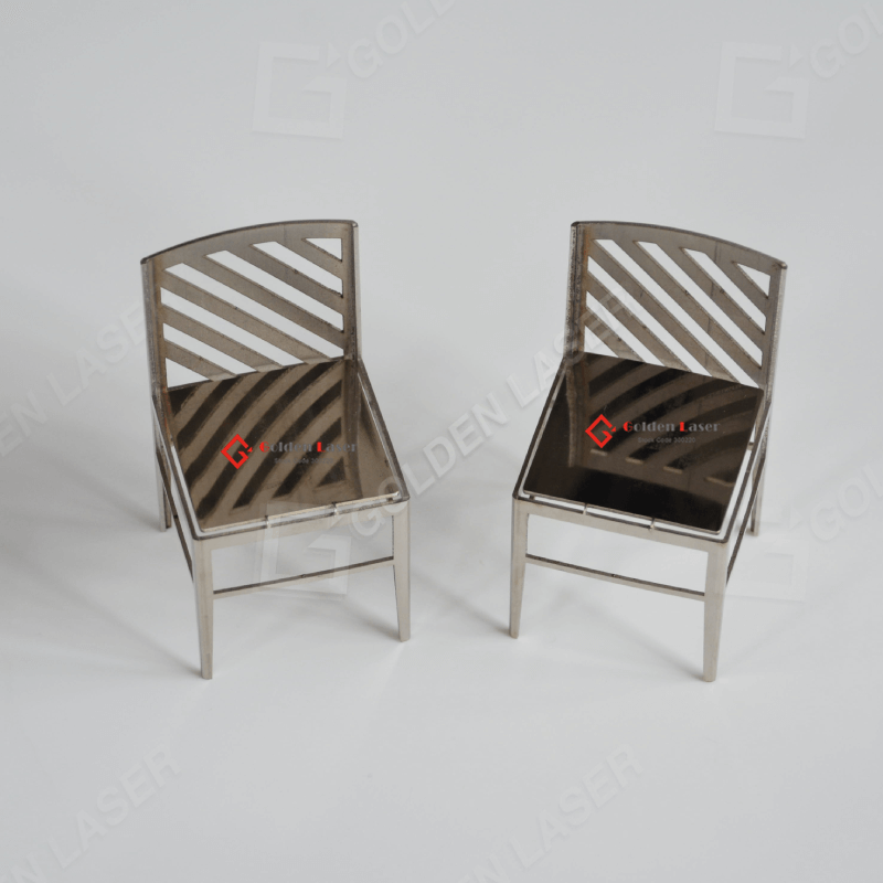 Tube Laser Cut For Metal Chair Artistic Gift