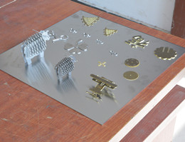Laser Cutting Copper and SS Sheet