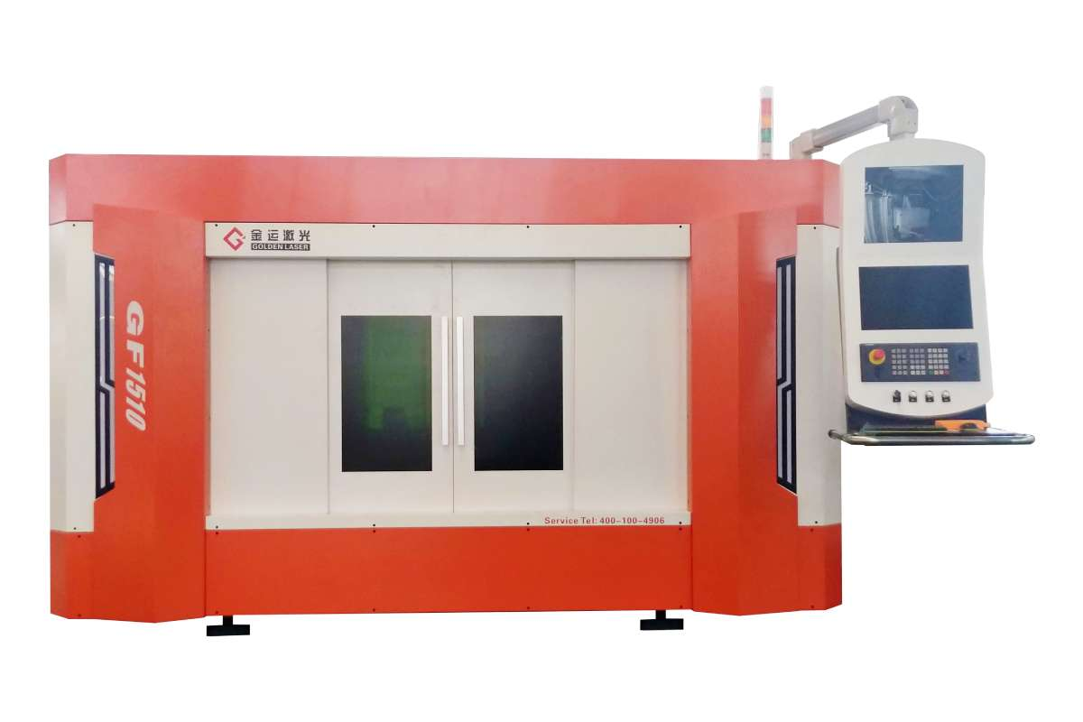 Middle Area Metal Sheet Fiber Laser Cutting Machine