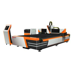 700w Open Type Fiber Laser Cutting Machine GF-1530