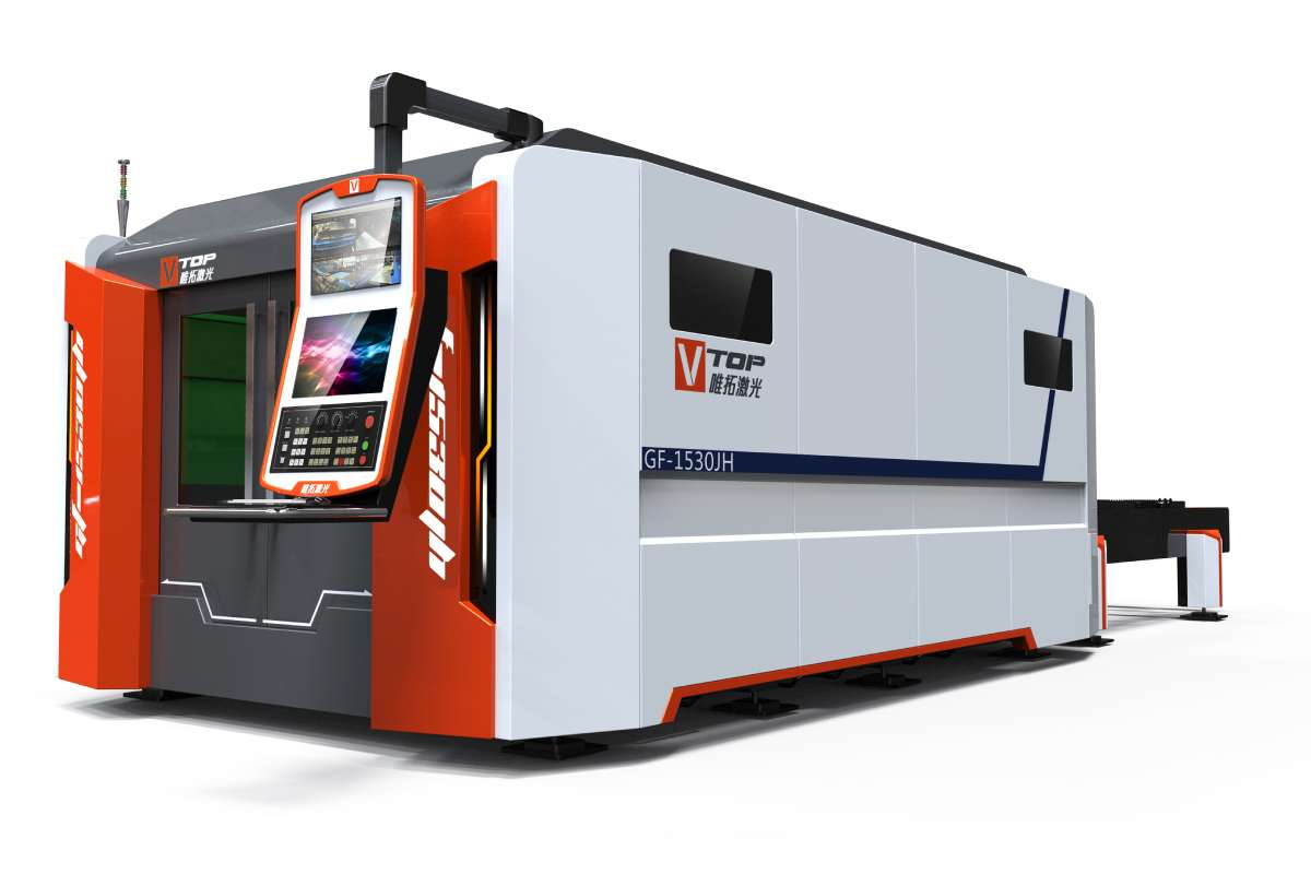 3000W Stainless Carbon Steel Sheet Fiber Laser Cutting Machine