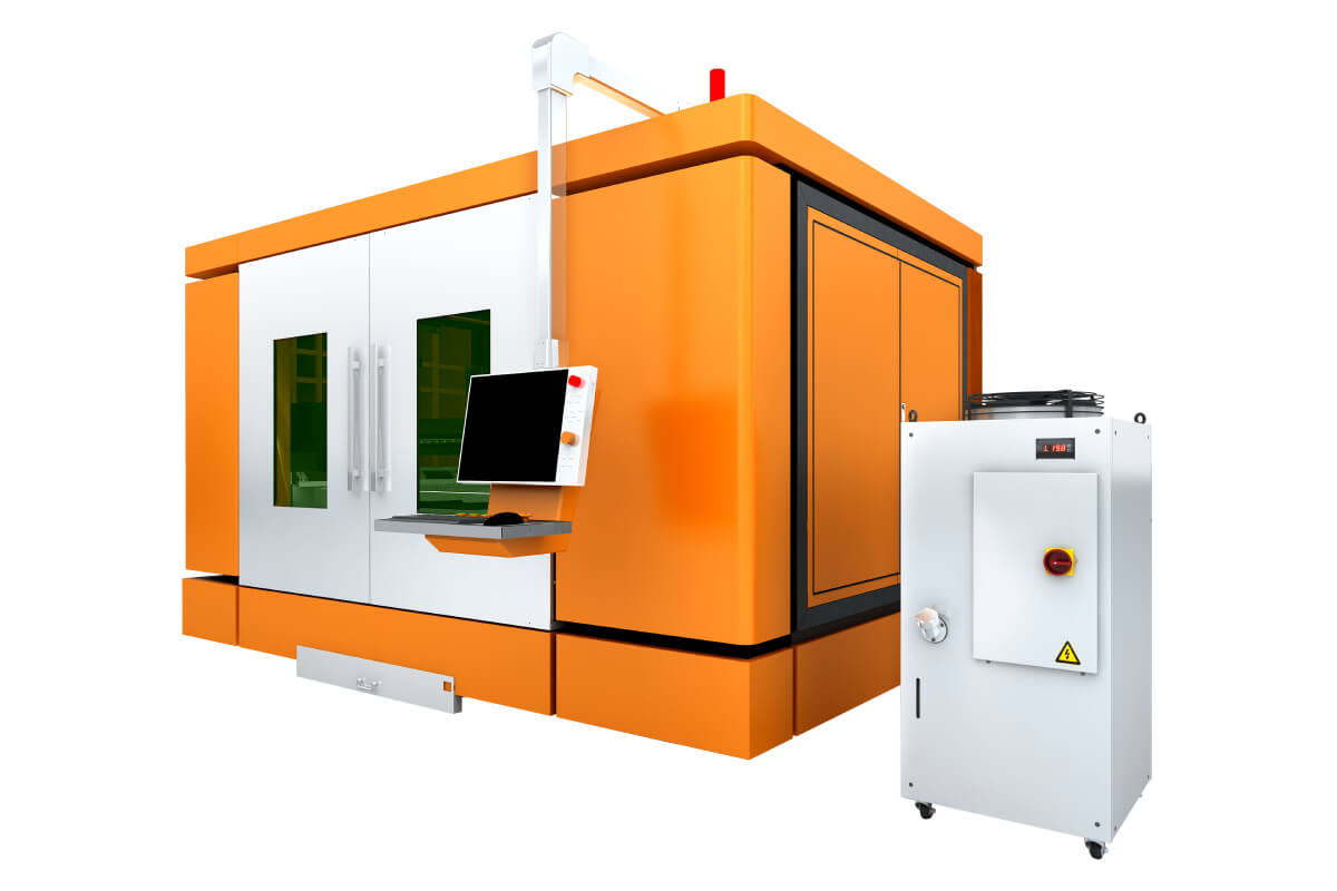 Precision Samll Area Fiber Laser Cutting Machine For Metal Sheet