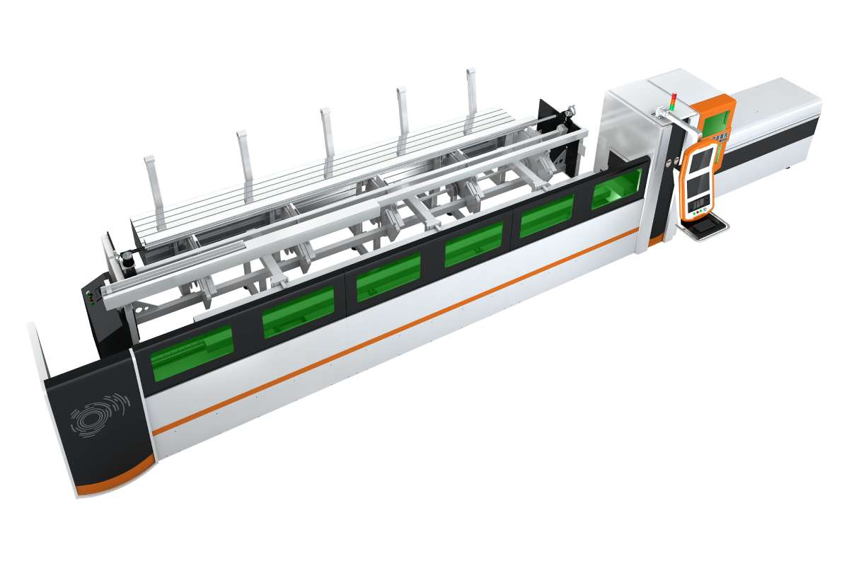 Small Tube Automatic Laser Cutting Machine-P1260A
