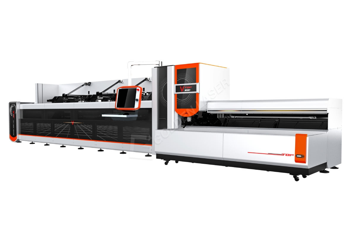 High-end intelligente CNC laserpyp snymasjien P2060A
