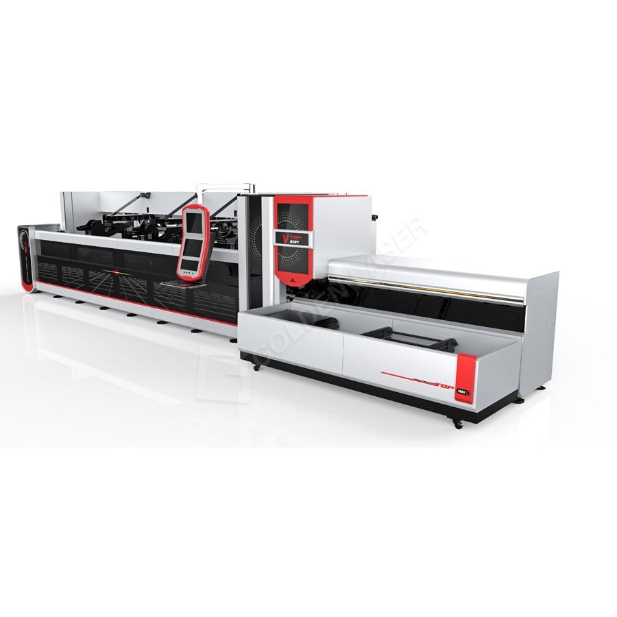 High-end Intelligent CNC Laser Tube Cutting Machine P3080A
