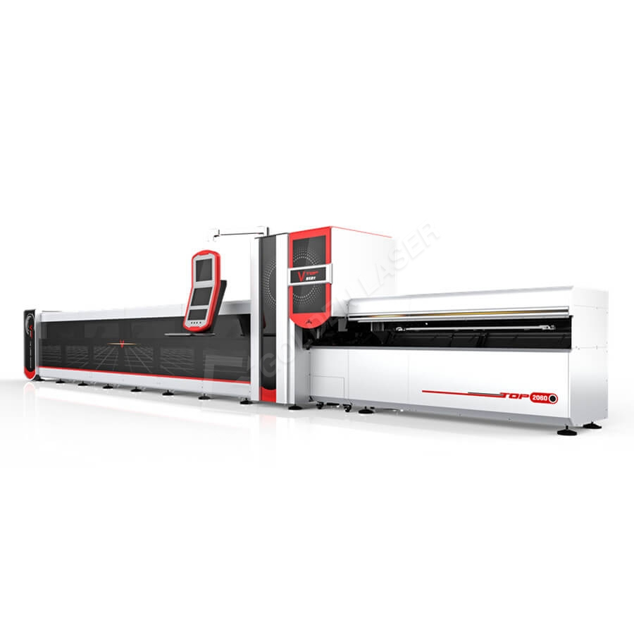 3000w Cnc Fiber Laser Round Square Rectangular Tube / Pipe Laser Cutter Featured Image