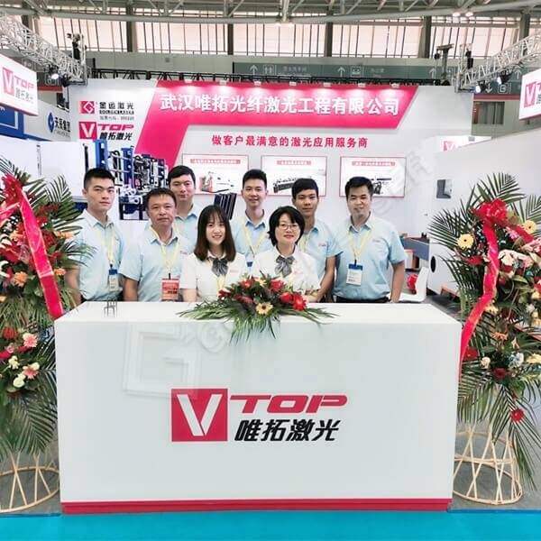 Рабіце канчатак Golden Vtop Laser JM2019 Qingdao International Machine Tool выставы