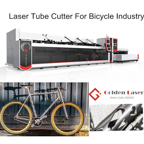 The Application of Golden Laser Tube Cutting Machine In Bicycle Industry