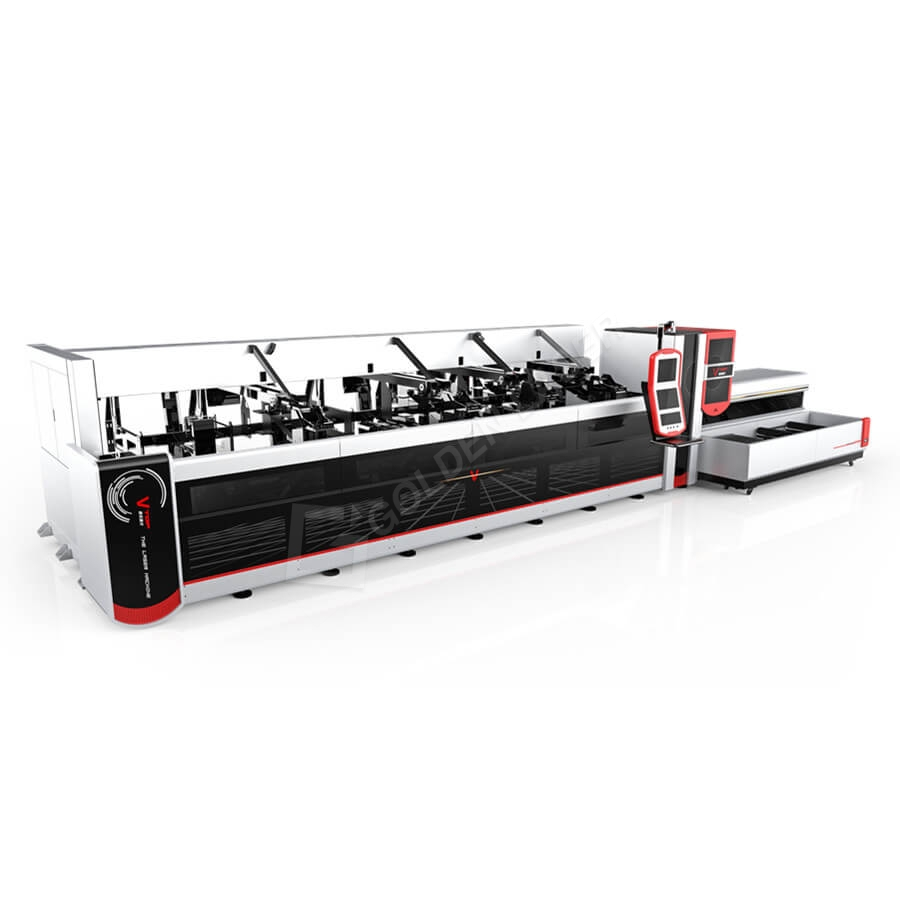 3000w 4000W Volautomatische Fiber Laser pijp snijmachine voor Heavy Machinery Featured Image