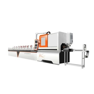 Metal Round Tube Fiber Laser Cutting Machine P120