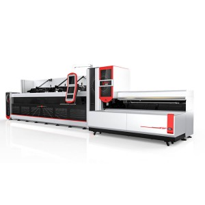 3000w 4000w Fully Automatic Fiber Laser Pipe Cutting Machine For Heavy Machinery