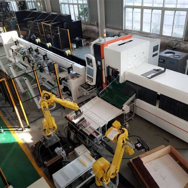 Intelligent & Automatic Tube Laser Cutting Production Line For German Customer