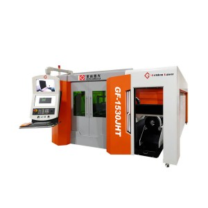1500w Full Closed Pallet Changer Fiber Laser Pipe and Sheet Cutting Machine