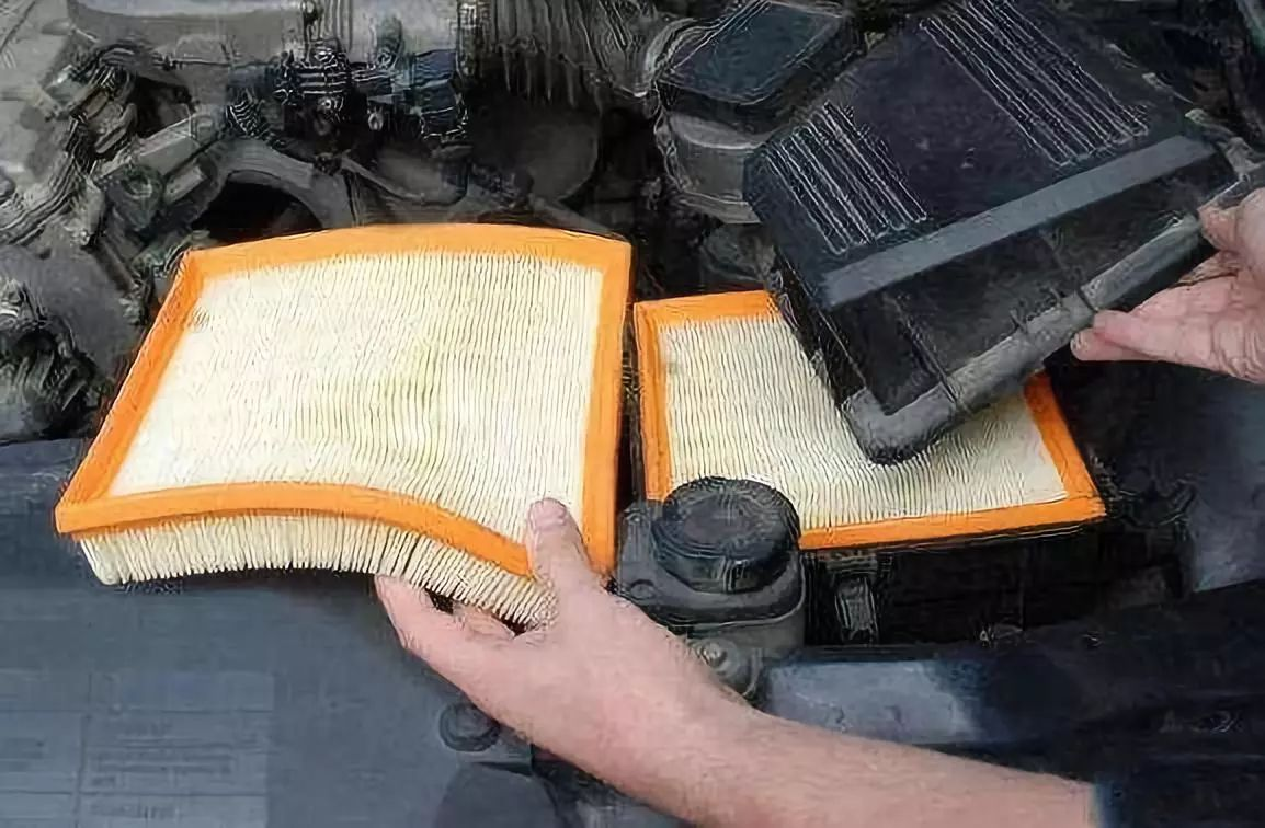 What happens if the gasoline filter is dirty