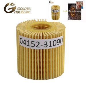 China factory filter price 04152-31090 car auto parts Oil filter