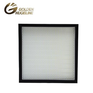 Clean Room MIni Pleated replacement filter Hepa Filter for FFU with CE UL HV fiberglass H14
