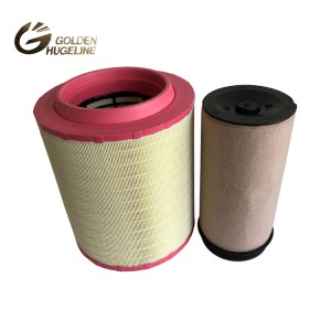 Popular replaceable truck air filter AF27970 from vacuum truck filters processing plant