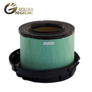E497L 0040942404 C411776 AF26165 Cylindrical Heavy Truck Air Filter Element For Truck