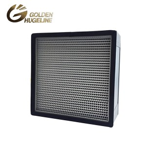 Aluminiomu Fireemu jin Pleat HEPA Box Air Filter