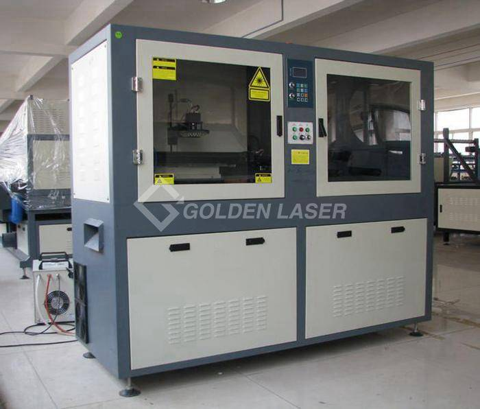 automatic laser cutter for label in roll with camera