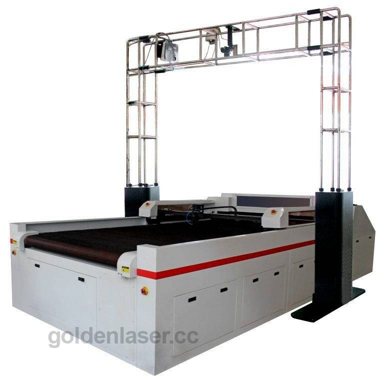 genuine leather laser cutting machine with canera