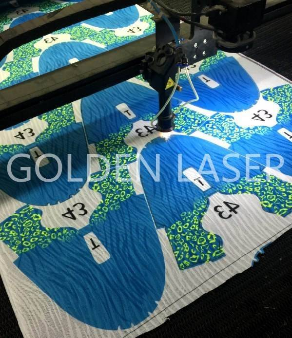 laser cutting knitting vamp mesh fabric