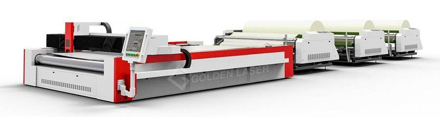 laser cutting system with multi-layer auto feeder
