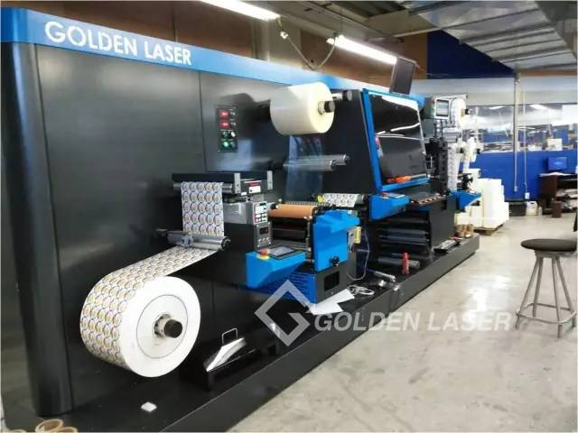 laser die-cutting machine Labelexpo