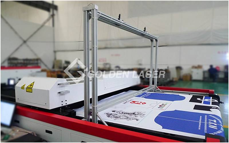 vision laser cutting machine for sublimation prints