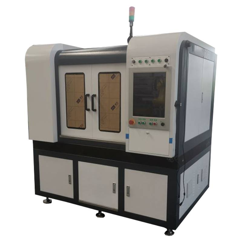 Update fiber laser cutting machine raycus laser source 1000w 600*600mm Japan Yaskawa motor Taiwan Hiwin Guide