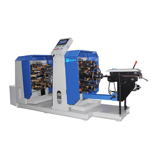 Good quality Shanghai 2 Heads Braiding Machine -