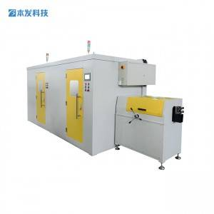 Factory best selling Wool Yarn Winder Machine - 24 Carriers Horizontal Braiding Machine BFB20W-200CFS  – BENFA